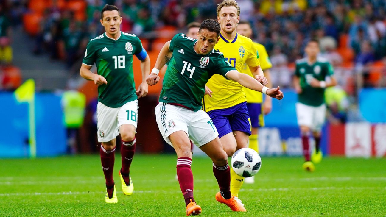Mexico vs. Sweden (Javier Hernandez )