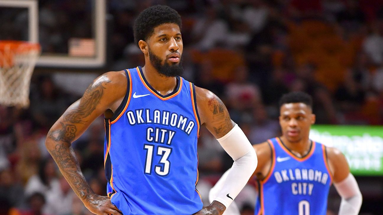 Nba Free Agency Espn Bt Phone Extension Socket Wiring Paul George Says Love Of Thunder Made It Easy To Remain In Okc