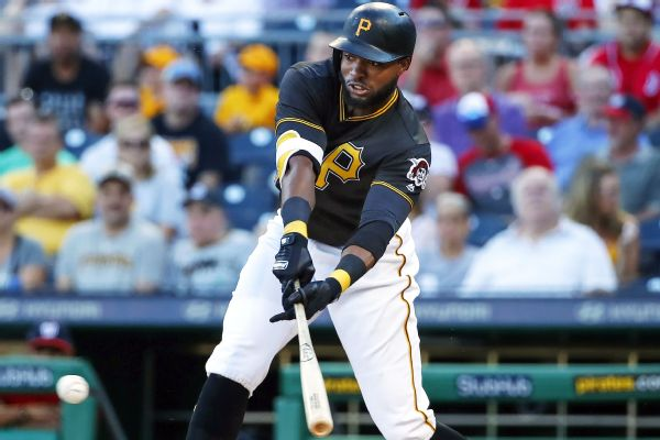 info for 11a75 9d135 Pirates' Polanco back from IL, makes '19 debut