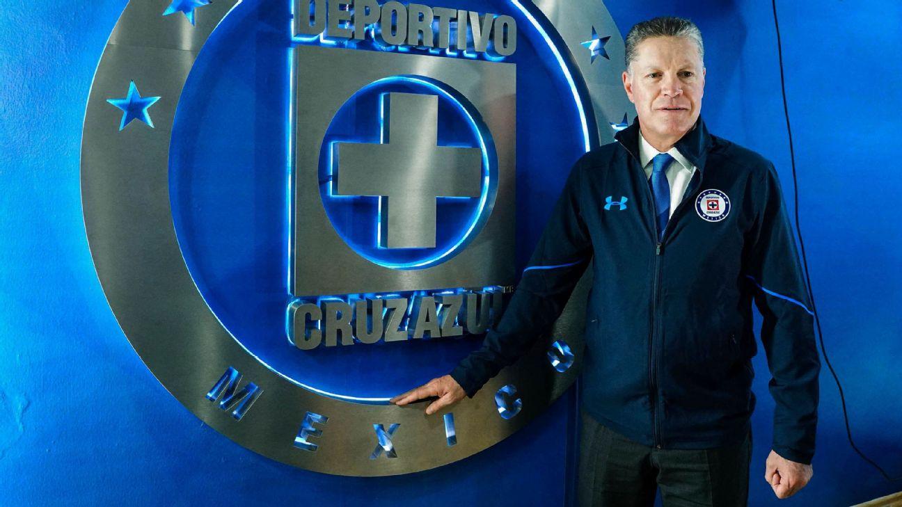 Ricardo Pelaez, cruz azul, cl2018