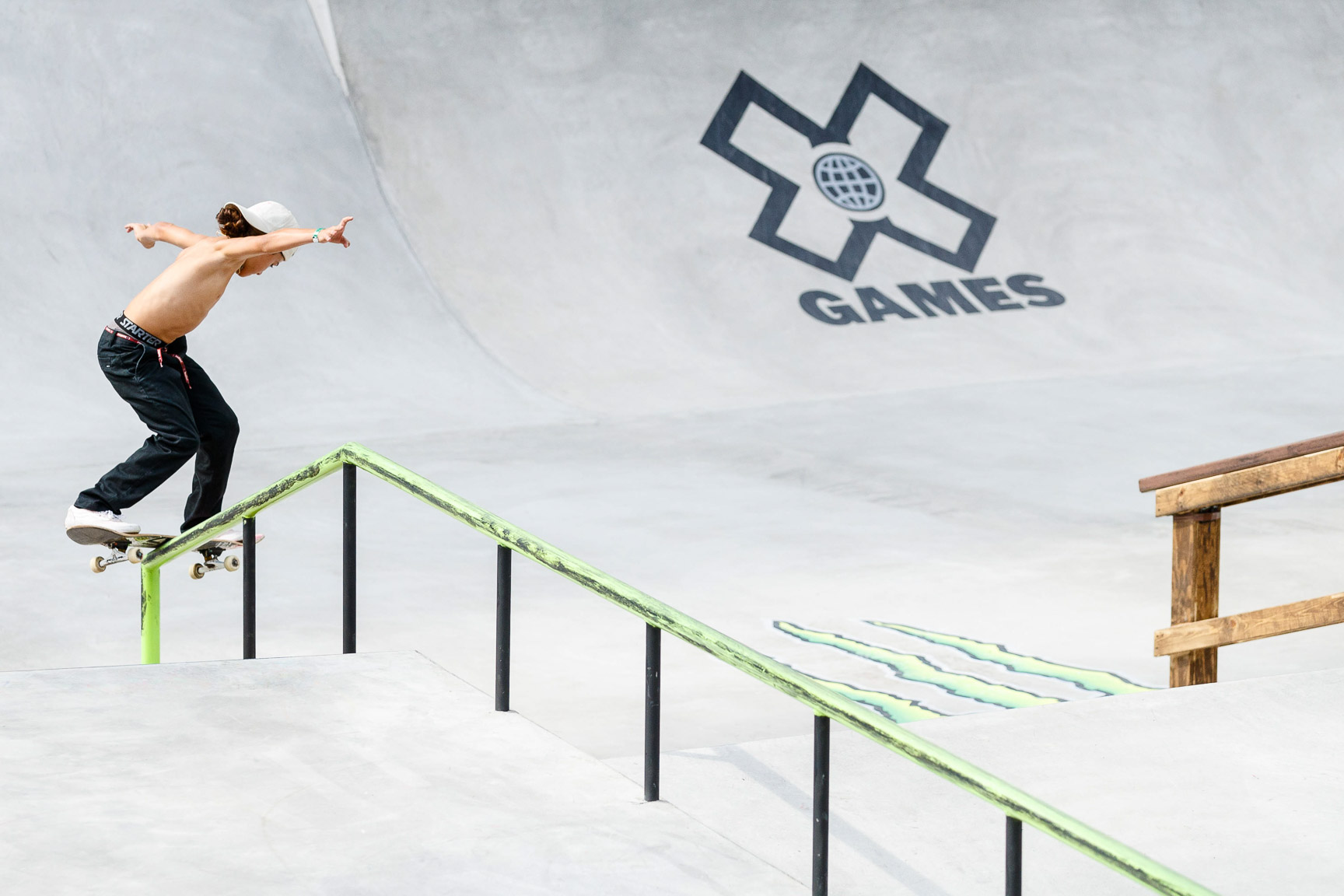 Myles Strampello, Next X Skateboard Street