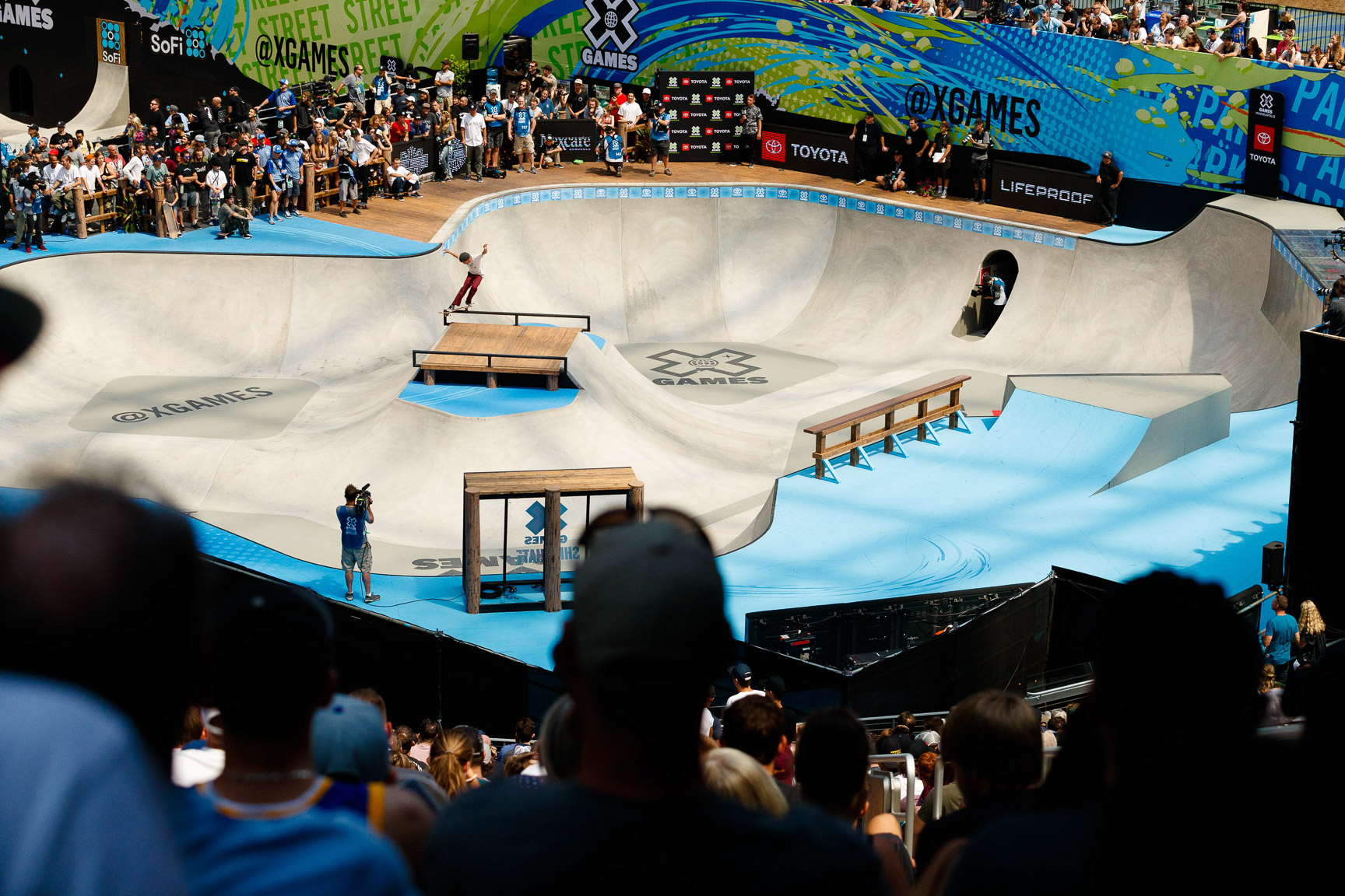 Keegan Palmer, Skateboard Park final