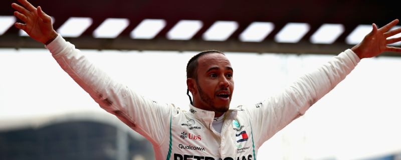 Even Lewis Hamilton looked surprised by his German Grand Prix victory.