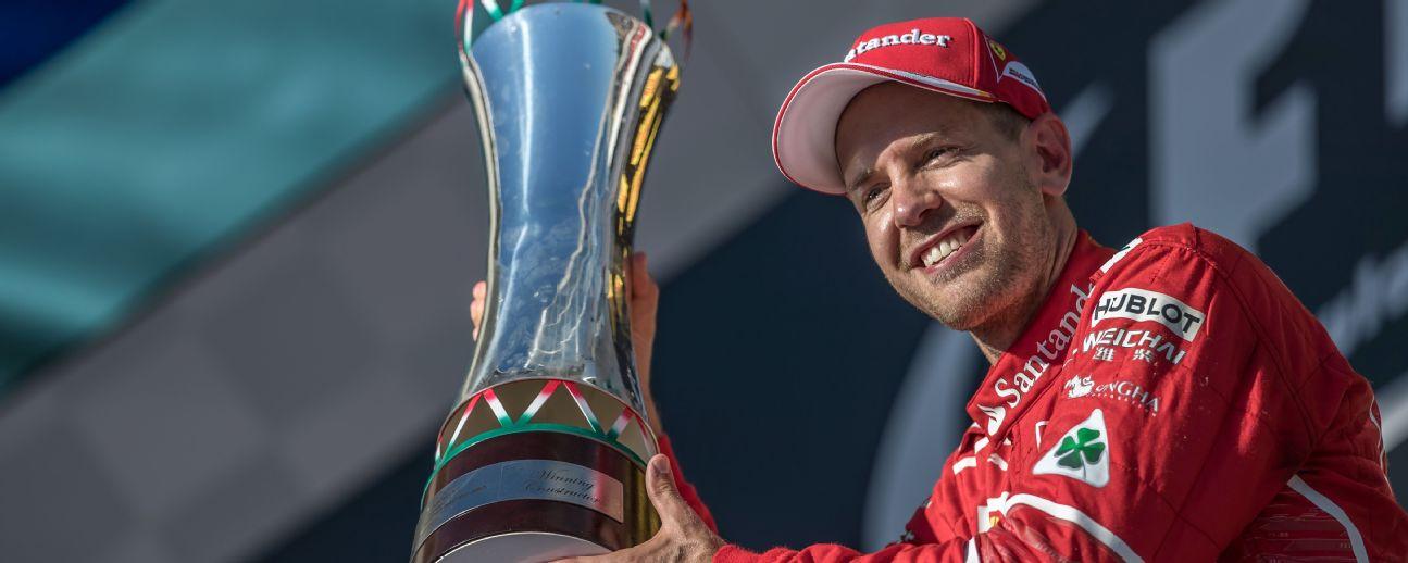 Ferrari's Sebastian Vettel won the 2017 Hungarian Grand Prix ahead of teammate Kimi Raikkonen and Mercedes' Valtteri Bottas.