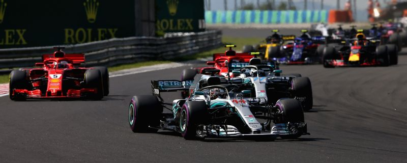 Lewis Hamilton converted his shock pole position in Hungary into a morale-sapping victory over Sebastian Vettel