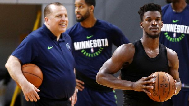 Woj: How Tom Thibodeau gambled everything on Jimmy Butler -- and lost