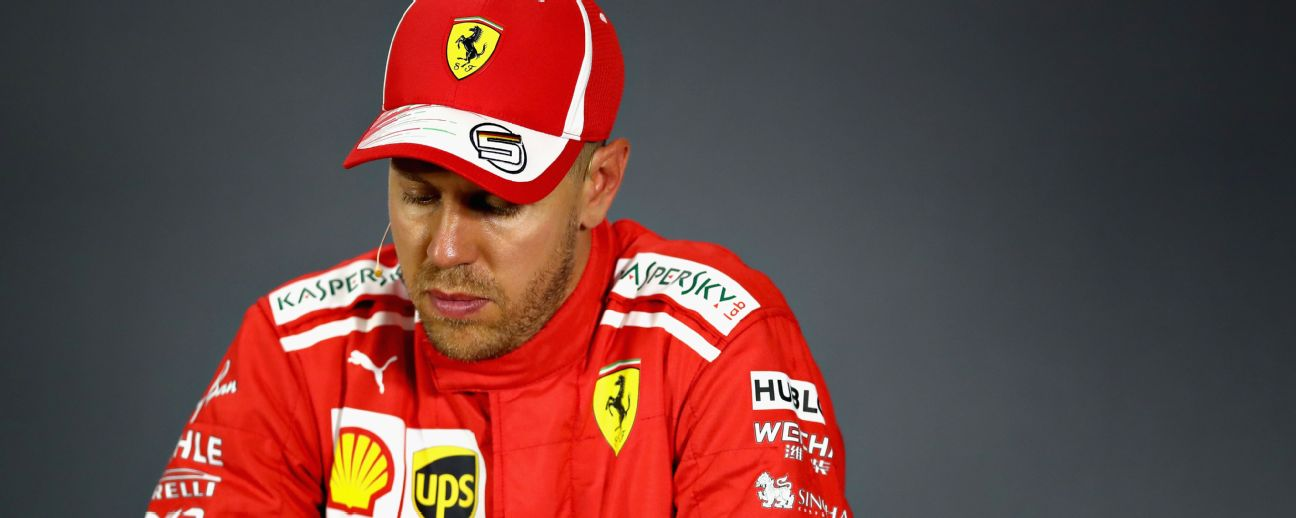 After Lewis Hamilton's win in Singapore,Sebastian Vettel trails him by 40 points in the drivers' championship.