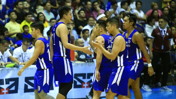 new product 7179c 823e8 Blue Eagles tame Bulldogs to notch second straight win