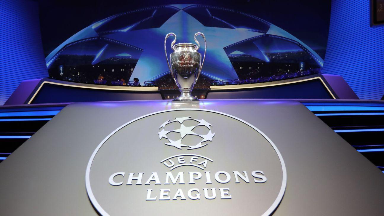 Champions League draw pots for Premier League clubs