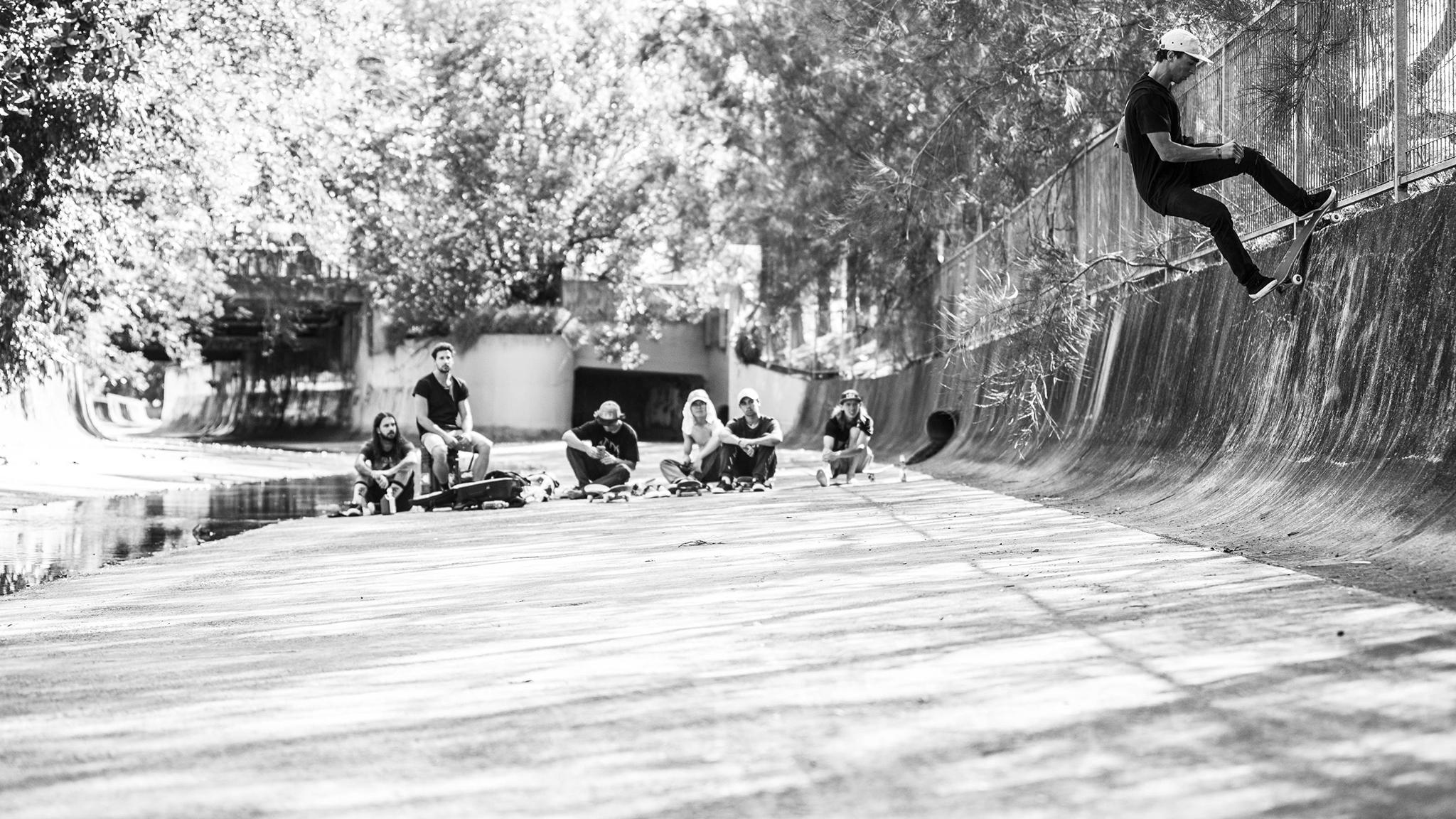 No shortage of skate spots