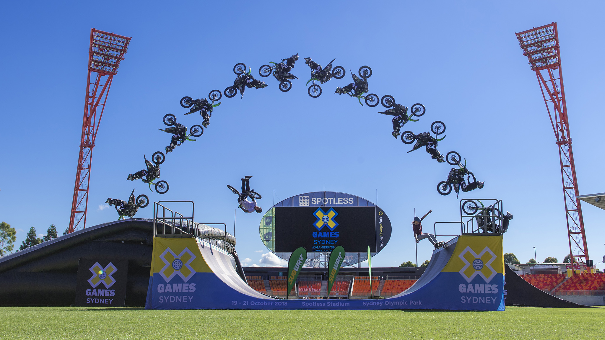 Welcome to X Games Sydney 2018