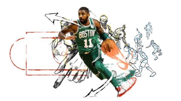 Step into Kyrie's world of ridiculous dribble moves