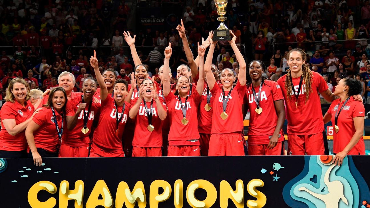 USA Basketball Women's National Team Sets Goal for Record-Breaking Fifth Consecutive Olympic Gold Medal