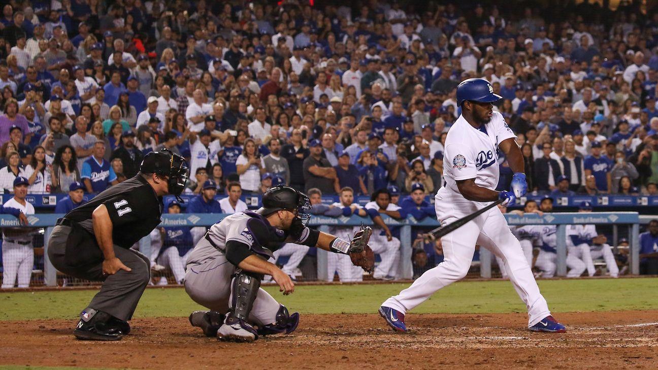 Los Dodgers atacaron temprano 1770cd111eb