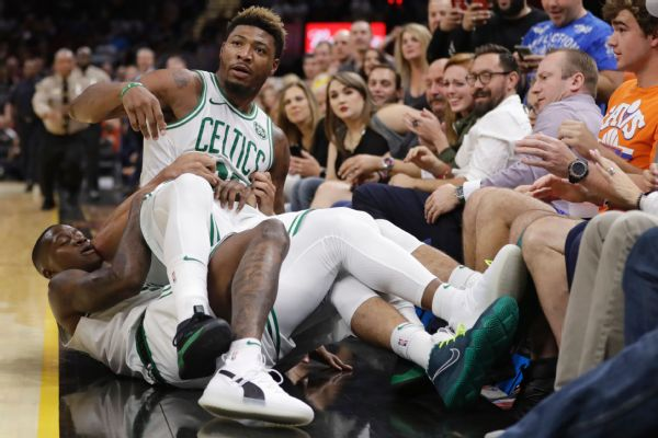 Celts Smart Ejected After Tiff With Cavs Smith