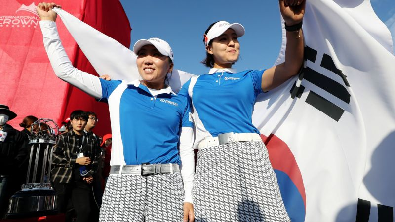 Host South Korea won two of the four singles matchups on Sunday to clinch the UL International Crown for the first time.