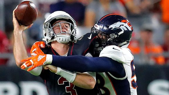 Broncos Walk The Walk In Rout Of Cardinals