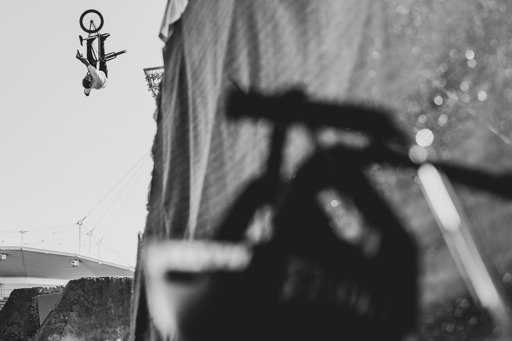 Leandro Moreira, BMX Dirt Qualifier