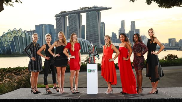 Which one of these eight players is most likely to head home from the WTA Finals as the champ?
