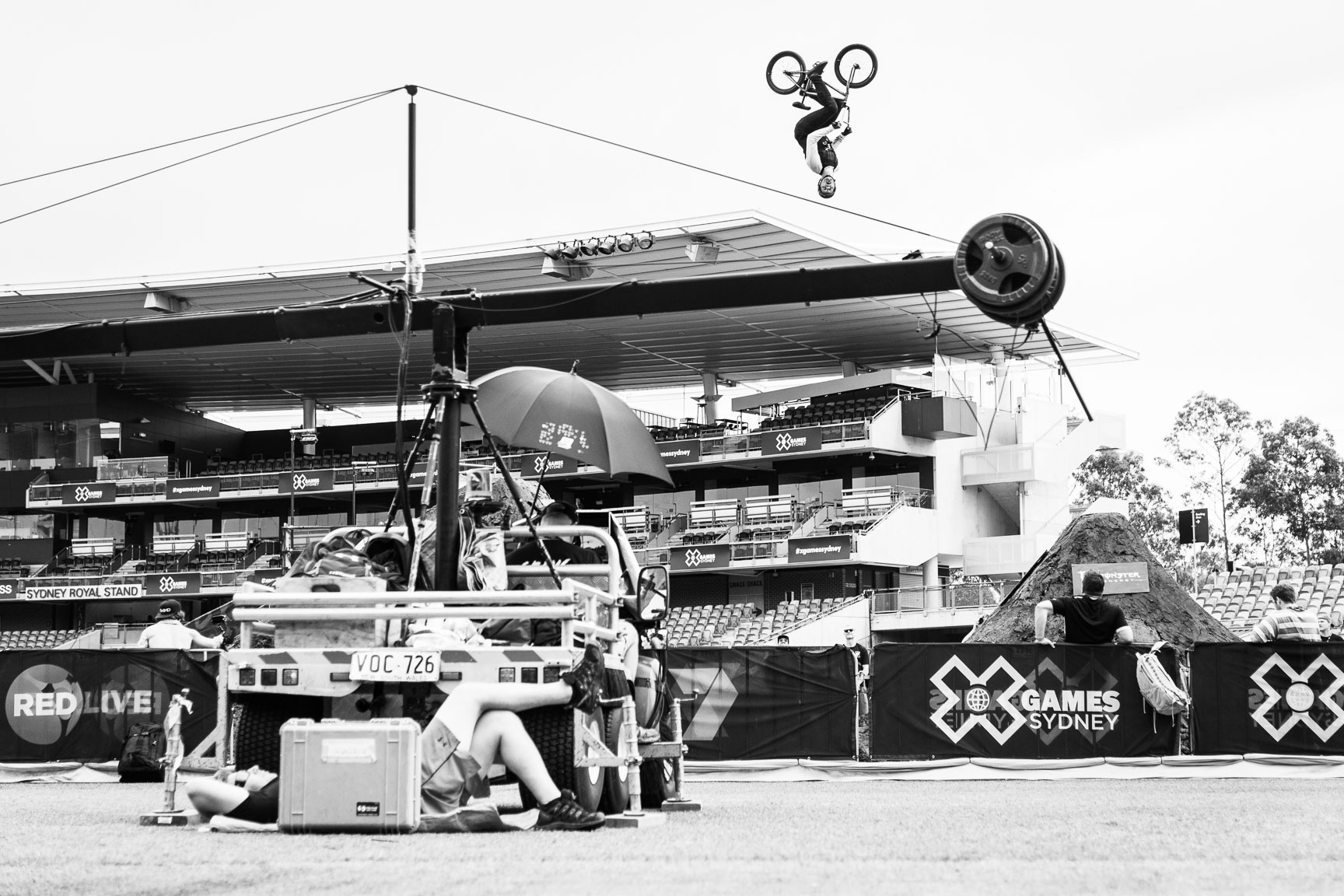 Brian Fox, BMX Dirt Final