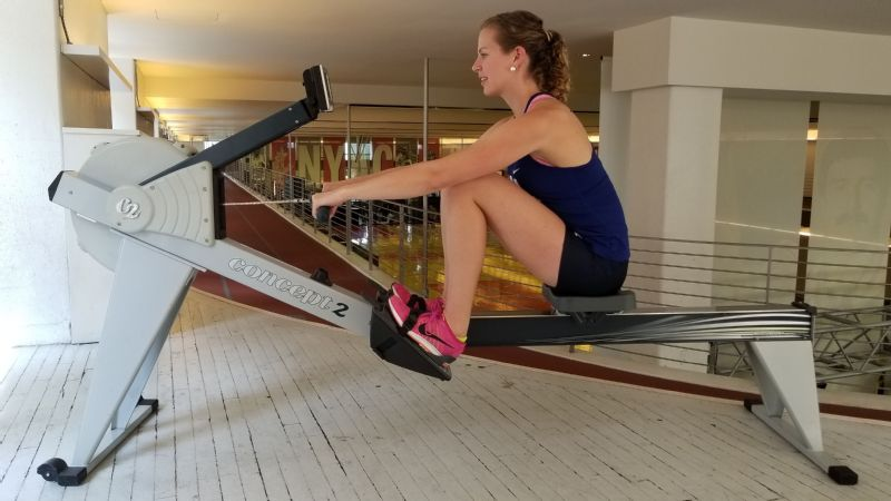The move I love to hate: Olympic rower Grace Luczak's killer erg sprints