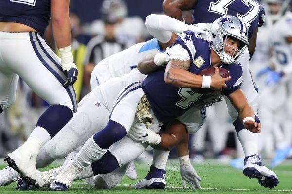 Jones Dak Is The Quarterback Of The Cowboys