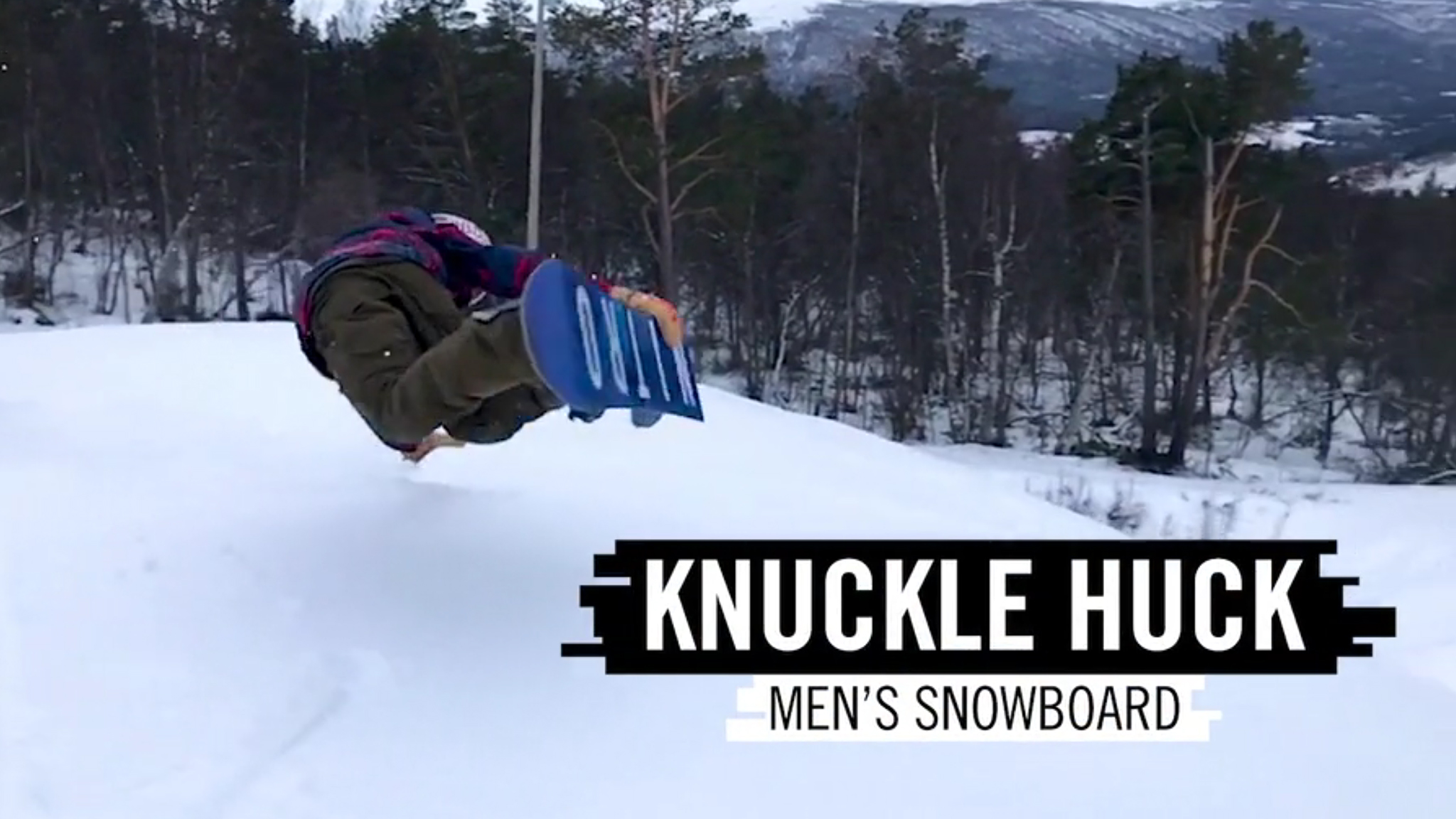 Knuckle huck is one of the new disciplines being introduced at X Games Aspen 2019.