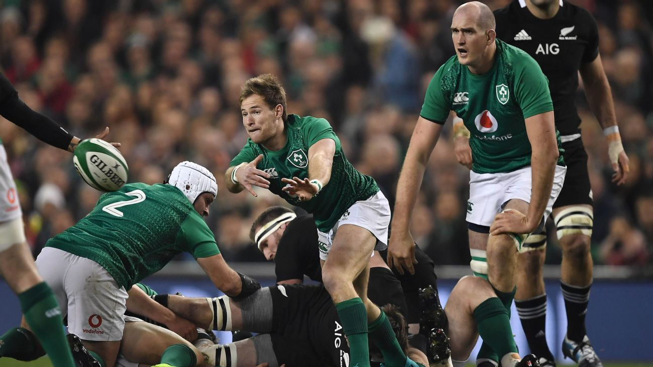 Rob Kearney Kieran Marmion Released As Ireland Look To Rotate Ahead Of U S Visit