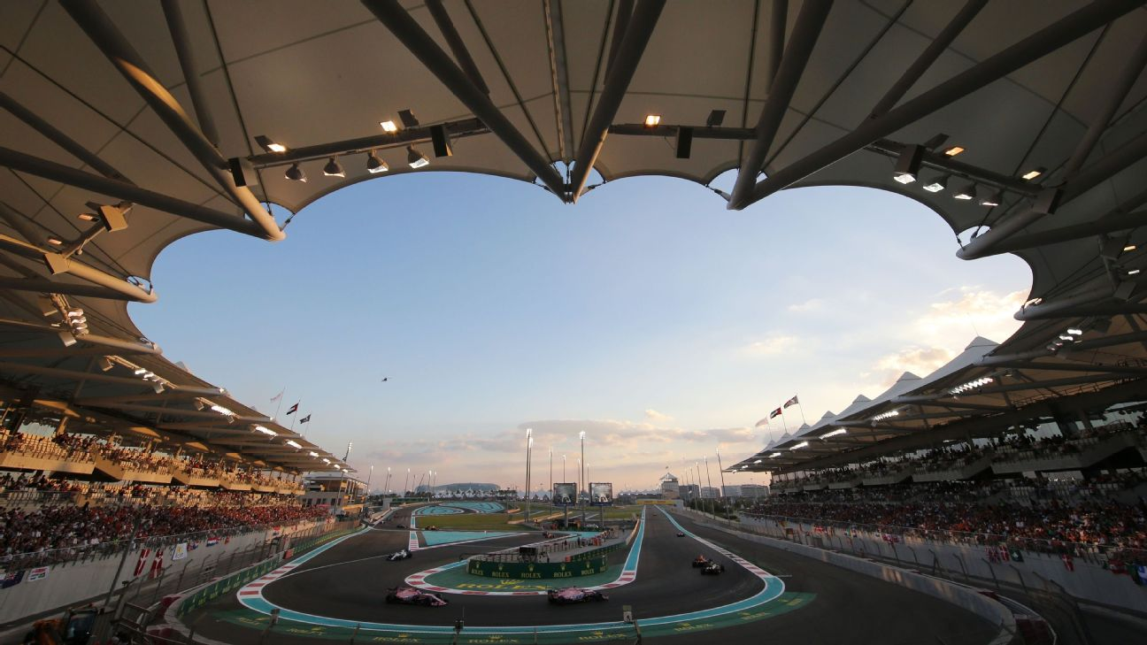 2018 Abu Dhabi Grand Prix What Time Does It Start And How Can I Watch