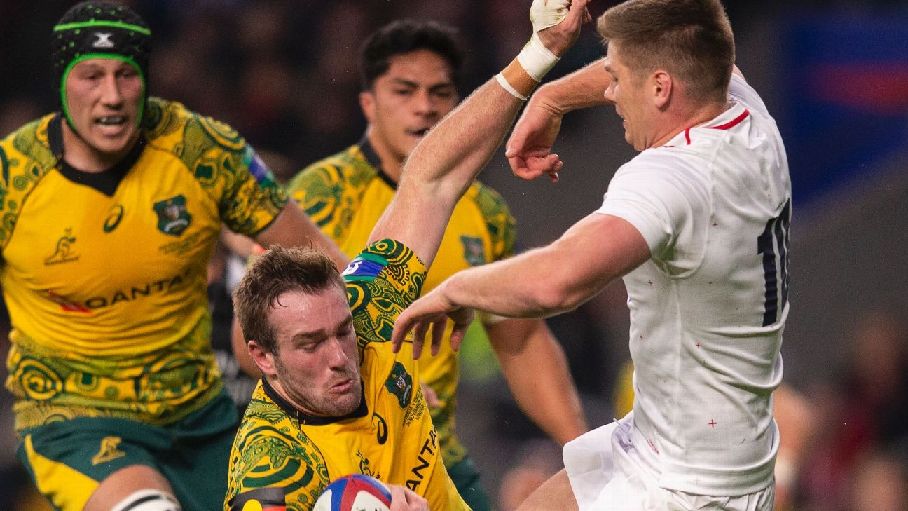Michael Cheika Hits Out At Ludicrous Decision Over Owen Farrell Tackle