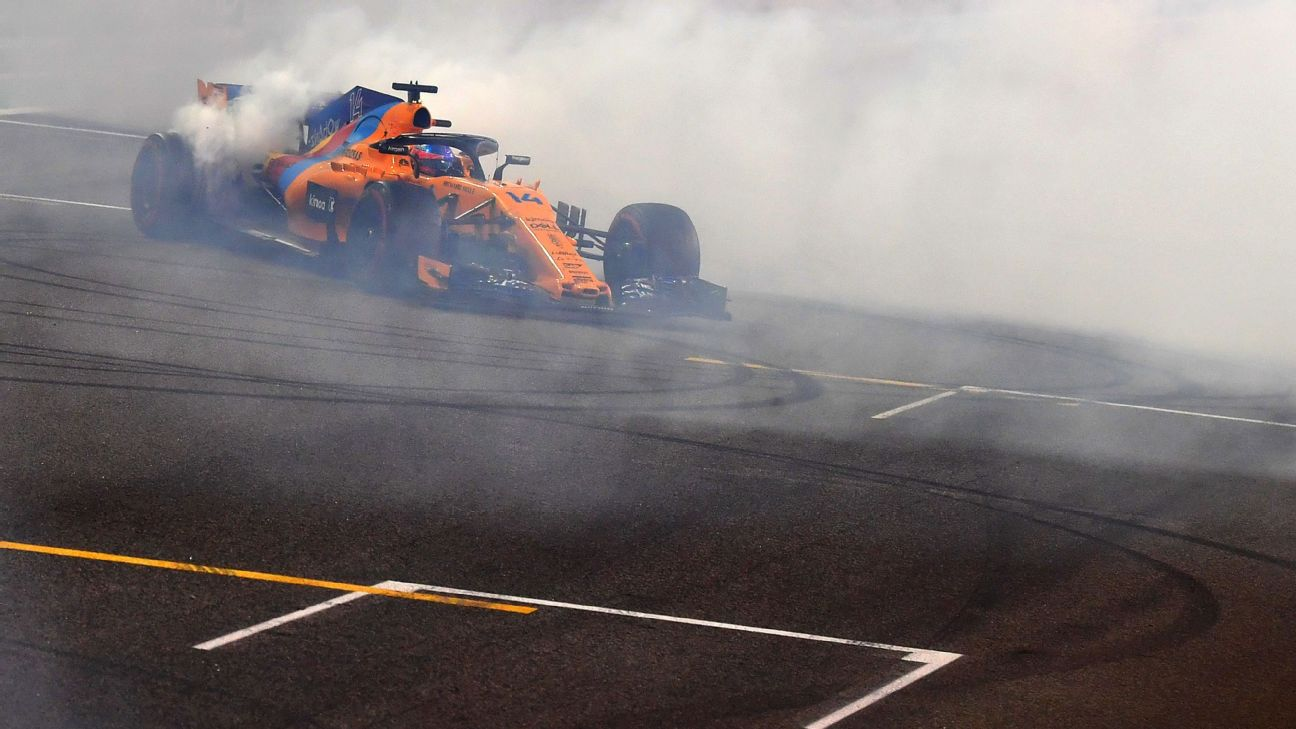 After Finishing 11th In The Abu Dhabi Grand Prix On Sunday Night Fernando Alonso Said It Had Not Yet Sunk In That He May Have Raced In Formula One For The