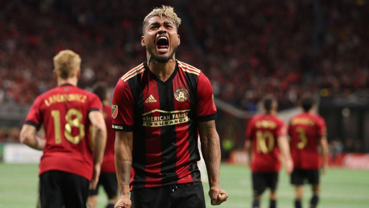 official photos 79080 67c33 Atlanta United sign MLS MVP Josef Martinez to five year ...