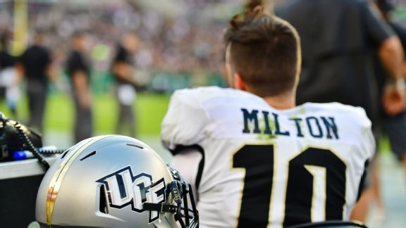 UCF playing for McKenzie Milton after his brutal injury