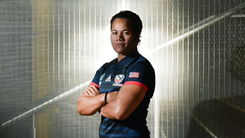 Tiffany Faaee captained the USA Eagles to a fourth-place finish in the 2017 Rugby World Cup.