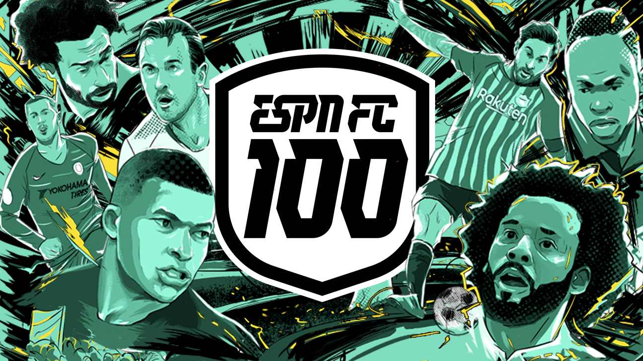 3575072919b ESPN FC 100 for 2018