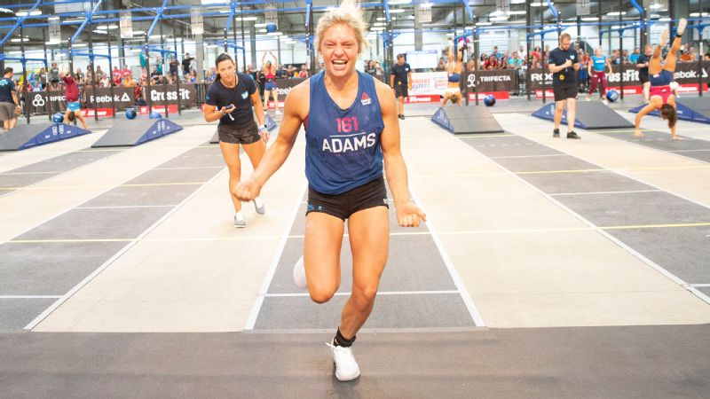 Haley Adams, on the CrossFit Games in August: I couldn't ask for a better performance. Everything went perfect.