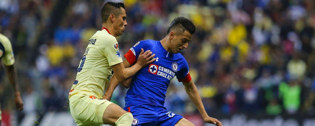 Cruz Azul vs América final ida Roberto Alvarado.