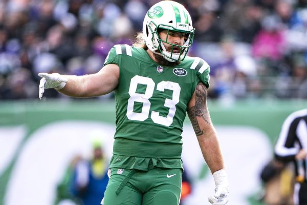 sale retailer bb36d 3bf13 Eric Tomlinson of New York Jets landed on IR due to freak ...