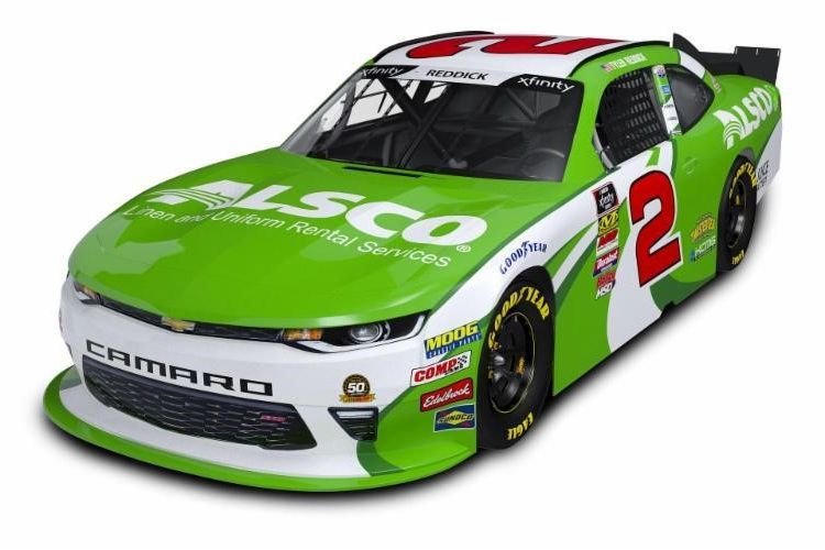 2019 NASCAR XFINITY Series Paint Schemes - #2 Team