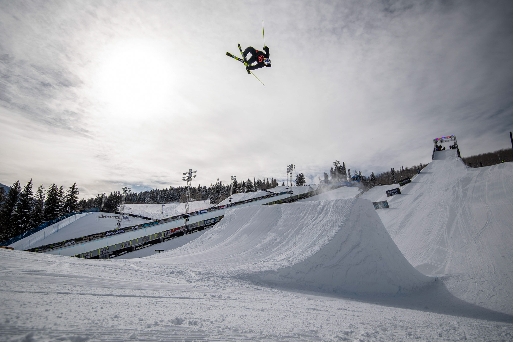 Jesper Tjader, Ski Slopestyle Practice
