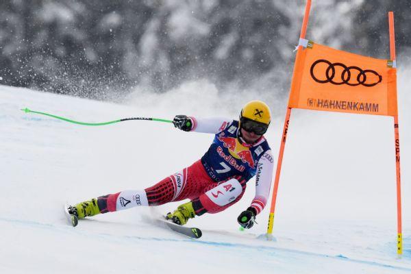 Max Franz to miss world championships after breaking heel bone