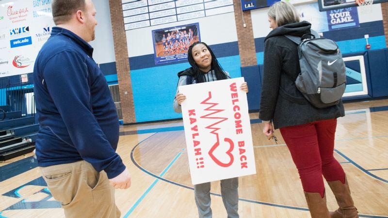 Kaylah Rainey is still hoping for the dream ending to her senior season at Belleville East High School.