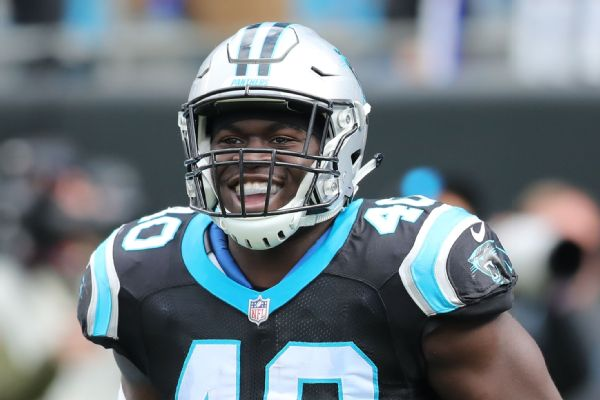 separation shoes 76f94 3190b Panthers FB Alex Armah used an arm bar to detain a would-be ...