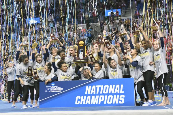 UCLA will go into this weekend's NCAA national championships as the defending champions and the No. 2 seed overall.