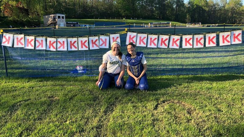 New York high school softball pitcher strikes out all 21 batters in perfect game
