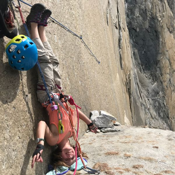 Selah said she rarely worries about the outcome of a climb.To her, El Capitan was home for those five days.