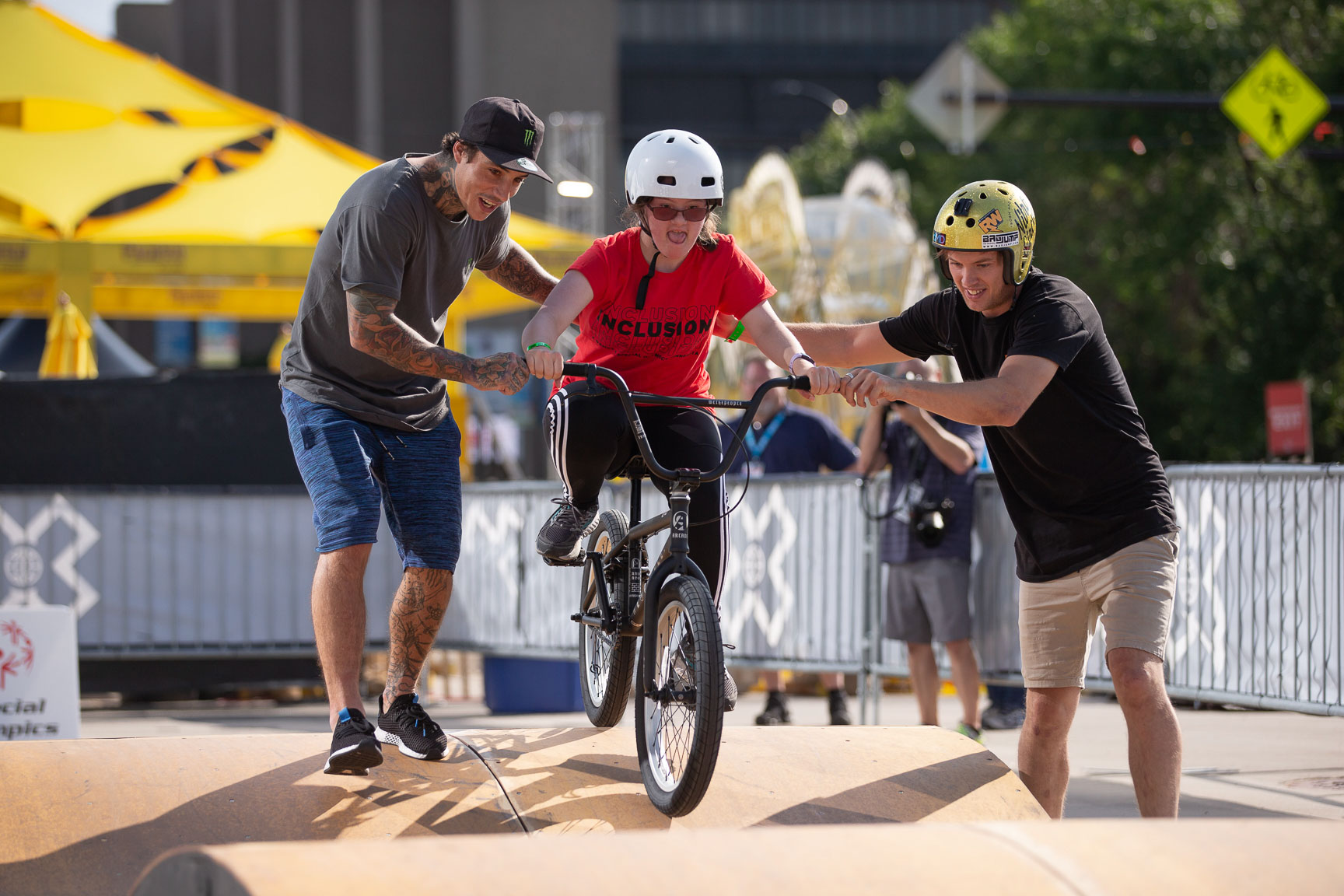Kyle Baldock and Ryan Williams, Special Olympics Unified BMX