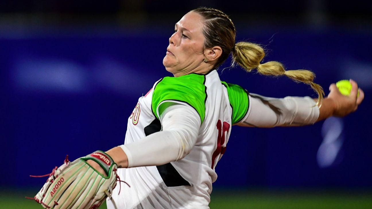 U S -born softball players keep Olympic hopes alive playing for