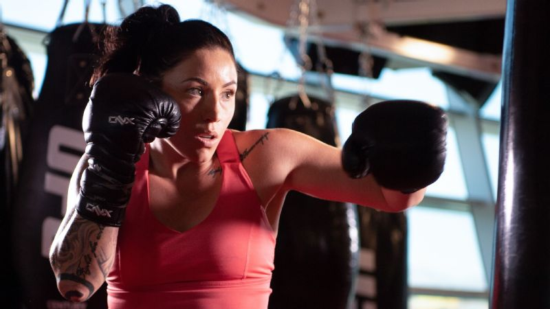 In her mind, Mallory Martin sees herself becoming a UFC fighter