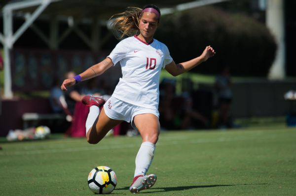 Deyna Castellanos was, according to Florida State head coach Mark Krikorian, talented enough to sign a pro contract out of high school. Now, she's back for a senior season.